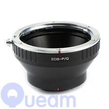 Canon EOS EF lens to Pentax Q appareil photo Bague d'adaptation sans Trépied Q10 Q7