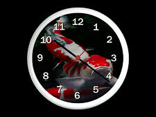 Koi Carp Wall Clock Can be Personalised