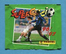 Bustina/Packet - figurine - SUPERCALCIO 96-97 - PANINI - Piena -New
