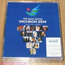 JYJ 17TH ASIAN GAMES INCHEON 2014 OFFICIAL ALBUM Only One K-POP 2 CD + DVD NEW