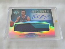 2015-16 Totally Certified BKB FABRIC OF THE GAME #FK Frank Kaminsky AUTO RC #/25