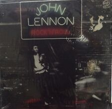 "JOHN LENNON  ""ROCK 'N' ROLL"" Rerelease VG Vinyl LP SHRINK Wrap Beatles"
