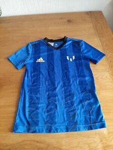 Boys Adidas messi  T-shirt age 9-10