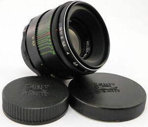⭐NEW⭐ HELIOS 44-2 58mm f/2 Russian Soviet USSR Lens M42 MINT Canon EOS Sony A 9