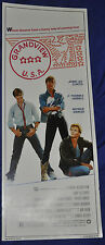 Grandview U.S.A. Original 14x36 Movie Poster Patrick Swayze- CBS (1984) ITB WH