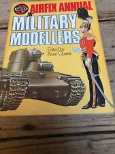 AIRFIX ANNUAL FOR MILITARY MODELLERS - EDITED BY BRUCE QUARRIE (Paperback, 1978)