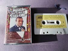 OO7 JAMES BOND GOLDFINGER GODFATHER 2001 ODISEA ESPACIO CASSETTE TAPE CINTA 1982