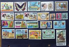 LIBERIA Stamps used (22)