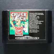 CHUCK ROCK Sega Mega Drive UK PAL English・♔・PLATFORM cart only CORE DESIGN MD