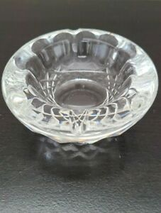 """Waterford Crystal Colleen Pattern Ash Tray 3.5"""""""