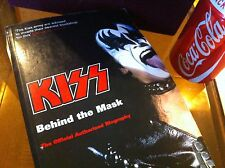 Kiss Behind the Mask Official Authorised Biography David Leaf & Ken Sharp Rare