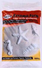 1000 Gramm Kerama-Form, feine weiße Gießmasse, Gießen von Formen Figuren etc.