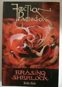 Faction Paradox-Erasing Sherlock-Paperback -Excellent Cond