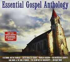 Essential Gospel Anthology 2-CD NEW SEALED Aretha Franklin/Mahalia Jackson+