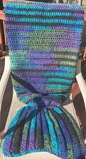 YOHCreations Crochet Mermaid Tail Blanket/Afghan - Teen Size