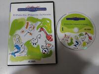 HANS CHRISTIAN ANDERSEN EL PATITO FEO LA SIRENITA PULGARCITA DVD SLIM