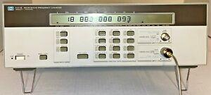 HP/Agilent 5351B Microwave Freq Counter , 10Hz -26.5 GHz