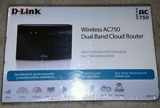 D-LINK WIRELESS AC 750 MBPS HOME CLOUD DUAL-BAND BROADBAND ROUTER APP-ENABLED
