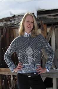 Skadi Scandinavian Style Alpaca Wool Sweater