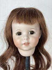 Vintage Sfbj Paris 8 Bisque Doll Head Repro 247 Mold For 16� Dolls
