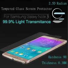 SCREEN PROTECTOR FOR SAMSUNG GALAXY NOTE 3 PREMIUM TEMPERED GLASS  CLEAR