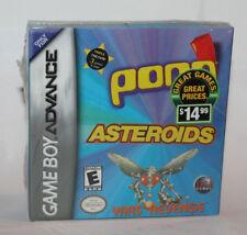 Nintendo GameBoy Advance Pong & Asteroids & Yars Revenge SEALED IN BOX