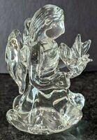 Crystal Glass Angle Girl Figurines