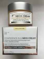 IT COSMETICS CONFIDENCE IN A NECK CREAM -FULL SIZE-NIB 2.6oz (Brand New Product)