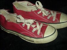 VTG 80S MILE 1933 RED  9 ALL STAR USA CONVERSE SNEAKER SHOE