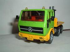 SIKU TOYS GERMANY MERCEDES BENZ TRACTOR IN USED CONDITION VINTAGE NEEDS TRAILER