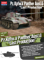1/35 Pz.kpfw.V Panther Ausf.G Last Production #13523 ACADEMY MODEL HOBBY KITS