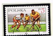 Poland Sport Field Hockey stamp 1985