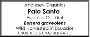 WILD HARVESTED PALO SANTO ESSENTIAL OIL 5ML & 10ML