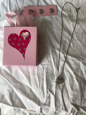 Girls Hello Kitty Sparkle Necklace, With Gift Box