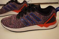 new style 94284 6d2ae Mens 9 UK EU 43 12 Adidas Originals ZX Flux Adv Mens Trainers Black
