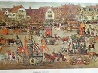 """Print of """"Isabella's Triumph"""" by Denis Van Alsloot with Mailing Box"""