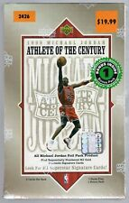 1999 UPPER DECK MICHAEL JORDAN ATHLETE OF CENTURY BASKETBALL FACTORY SEALED BOX