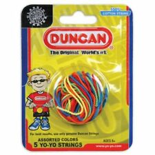 Duncan Yo Yo String 5 Pack Multicolor Cotton Colors Red Green Orange Blue Yellow