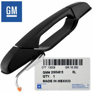 GM OEM Exterior Black Door Handle RL Rear for 07-14 Tahoe Silverado Yukon Sierra