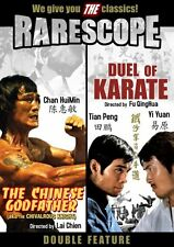 The Chinese Godfather And Duel of Karate Double Features Dvd 2008 New