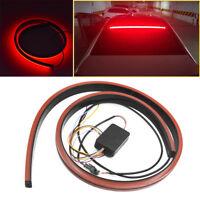 100cm Flexible LED Brake Light Strip Car Rear Window High Mount Red Stop Lamp