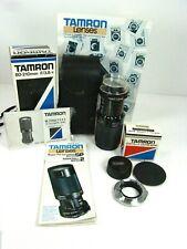 Tamron 80-210mm F/3.8-4 CF Tele Macro Adaptall2 for OLYMPUS-M W/ BOX EXTRAS