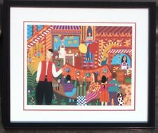 Helen Zughaib Serigraph 'Stoies Of My Father' Limited Edition