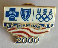 Team USA 2000 Sponsor Olympic Games Australia Pin Badge Rare Vintage (F2)