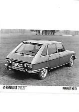 RENAULT 16TX  'M' REG. PRESS PHOTO 'brochure related'
