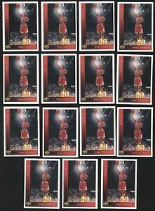 Lot (x15) 1993-94 Upper Deck MICHAEL JORDAN Card #23 Chicago Bulls