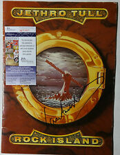 SIGNED JETHRO TULL IAN ANDERSON TOUR BOOK PROGRAM CERTIFIED AUTHENTIC JSA M20421