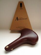 NEW IN BOX GILLES BERTHOUD SADDLE SEAT VARS BROWN MADE IN FRANCE