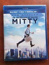 THE SECRET LIFE OF WALTER MITTY NEW SEALED BLU-RAY + DVD + DIGITAL HD 2-DISC W.S