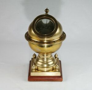Brass Yacht Compass - Lilley & Son, London, 19th century